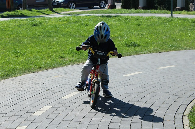 dziecko-rower